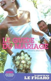 Le guide du mariage - Intérieur - Format classique