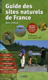 Guide des sites naturels de France - Couverture - Format classique