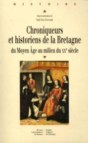 Chroniqueurs et historiens de la Bretagne - Couverture - Format classique