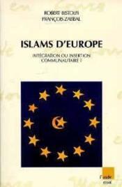 Islams D'Europe - Couverture - Format classique