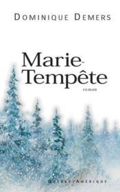 Marie Tempete - Couverture - Format classique