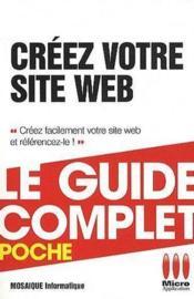 Créez votre site web - Couverture - Format classique