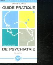 Guide Pratique De Psychiatrie - Couverture - Format classique