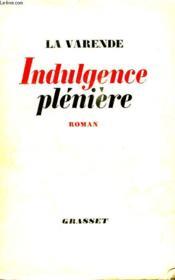 Indulgence Pleniere. - Couverture - Format classique