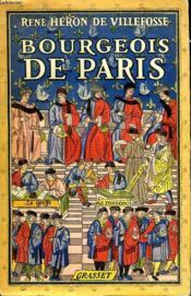 Bourgeois De Paris. - Couverture - Format classique
