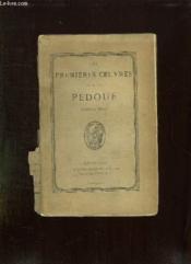 Les Premieres Oeuvres Du Sieur Pedoue. - Couverture - Format classique