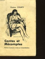 Contes Et Mecomptes - Couverture - Format classique