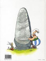 Astérix T.9 ; Astérix et les Normands - 4ème de couverture - Format classique