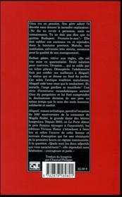 Abigaël - 4ème de couverture - Format classique