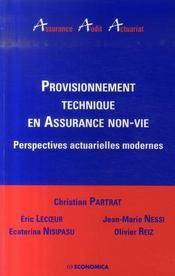 Provisionnement Technique En Assurance Non-Vie - Intérieur - Format classique