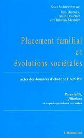 Placement familial et évolutions societales - Intérieur - Format classique