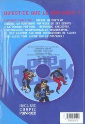 Pop Rock Story T.1 - 4ème de couverture - Format classique