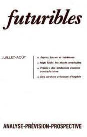 Futuribles N.112 Juillet Aout 1987 - Couverture - Format classique