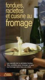 Raclettes et fromages - Couverture - Format classique