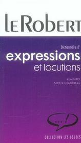 Expressions Et Locutions - Intérieur - Format classique