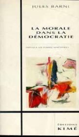 Morale Dans La Democratie (La) - Couverture - Format classique