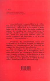 Chroniques Ordinaires Du Colonialisme Francais - 4ème de couverture - Format classique