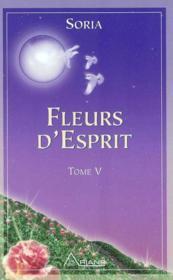 Fleurs d'esprit - soria t.5 - Couverture - Format classique