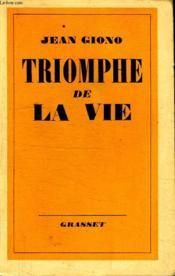 Triomphe De La Vie. - Couverture - Format classique