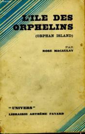 L'Ile Des Orphelins. ( Orphan Island ) - Couverture - Format classique