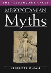 Mesopotamian myths - Couverture - Format classique