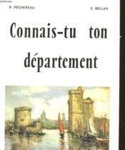 La Charente-Maritime - Couverture - Format classique