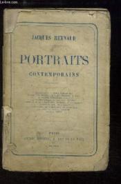 Portraits contemporains. - Couverture - Format classique