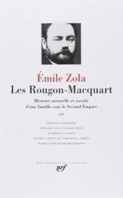 Les Rougon-Macquart ; histoire naturelle et sociale d'une famille sous le Second Empire t.3 - Couverture - Format classique