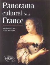 Panorama Culturel De La France - Intérieur - Format classique