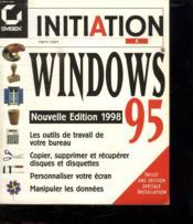 Initiation A Windows 95 -Ne98 - Couverture - Format classique