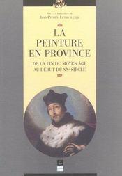 Peinture en province - Intérieur - Format classique