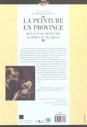 Peinture en province - 4ème de couverture - Format classique