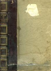 Un Fonctionnaire D'Autrefois, P. F. Lafaurie (1786-1876) - Couverture - Format classique