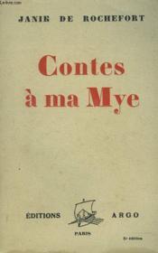 Contes A Ma Mye - Couverture - Format classique