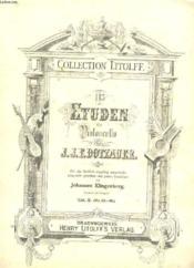 113 Etuden Fur Violoncello. Inhalt. Cahier 2 (No 35-62) - Couverture - Format classique