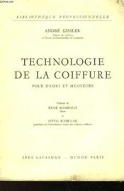 Technologie De La Coiffure Pour Dame Et Messieurs - Couverture - Format classique