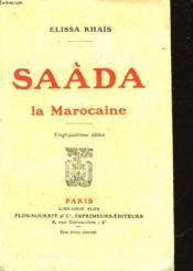 Saada La Marocaine - Couverture - Format classique