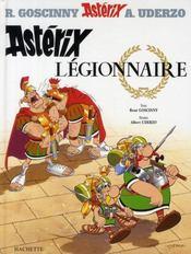 Astérix T.10 ; Astérix légionnaire - Intérieur - Format classique