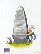 Astérix T.10 ; Astérix légionnaire - 4ème de couverture - Format classique