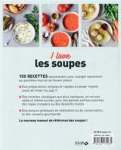 Les soupes - 4ème de couverture - Format classique