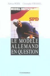 Le modele allemand en question - Intérieur - Format classique