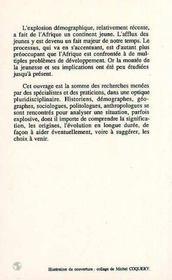 Les jeunes en afrique ; évolution et rôle, xix-xx siècles t.1 - 4ème de couverture - Format classique