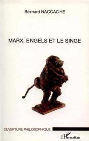 Marx Engels Et Le Singe - Couverture - Format classique