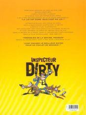 Inspecteur Dirty t.1 ; nul n'est censé ignorer ma loi - 4ème de couverture - Format classique