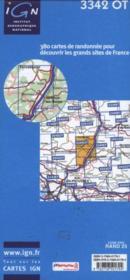 Manosque ; Forcalquier ; PNR du Luberon ; 3342 OT - 4ème de couverture - Format classique