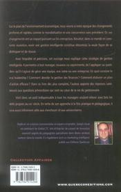 Le Management Intelligent. Faire Face Aux Défis Internationaux Et Multiculturels Du Xxie Siècle - 4ème de couverture - Format classique