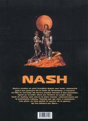 Nash t.8 ; la guerre des rouges - 4ème de couverture - Format classique