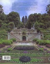Villas et jardins de toscane - 4ème de couverture - Format classique