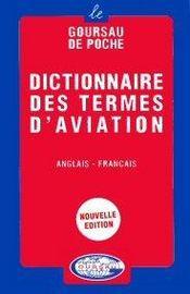 Dictionnaire des termes d'aviation ; anglais-franÇais - Intérieur - Format classique