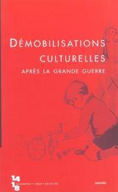 Revue 14-18 ; Démobilisations - Intérieur - Format classique